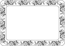 Insulated frame background template for certificate Royalty Free Stock Photography