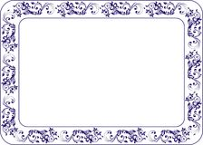 Insulated frame background template for certificate Stock Images