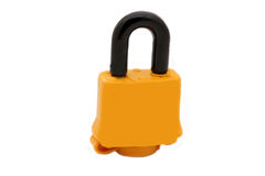 Insulated lock Royalty Free Stock Photography