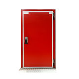 Insulated reefer door Stock Photos
