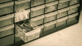 Insulated spade terminal Stock Photo