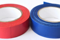 Insulating tape rolls Royalty Free Stock Photo