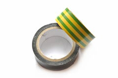 Insulating tape Stock Photo