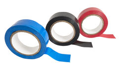 Insulating tapes Royalty Free Stock Images
