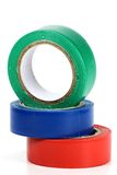 Insulating tapes Royalty Free Stock Photos