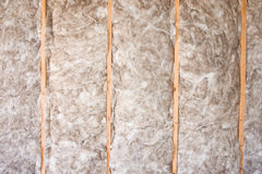 Insulation. Eco-friendly insulation in a home remodel project Stock Photo