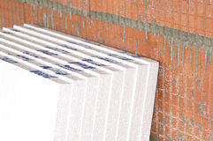 Insulation boards Stock Photos