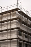 Insulation on building. Thermo insulation on a building Stock Images