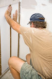 Insulation Installation Royalty Free Stock Photography
