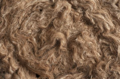 Insulation Materials - Glass Wool Detail Royalty Free Stock Photos