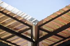 Insulation roof. Royalty Free Stock Photography