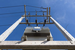 Insulation and switches - Components of the transformer Royalty Free Stock Image