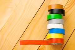 Insulation tape Royalty Free Stock Images