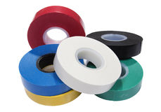 Insulation tape Stock Image