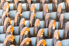 Insulator. High voltage electrical insulator prepare for installation Stock Images