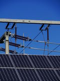 Insulator solar cell Stock Images