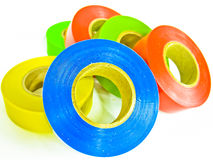 Insulator tape Royalty Free Stock Photo
