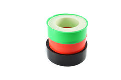 Insulator tape Used in plumbing Royalty Free Stock Images