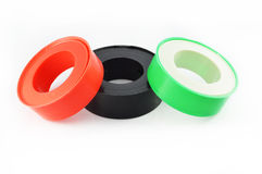 Insulator tape Used in plumbing Royalty Free Stock Image