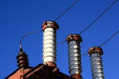 Insulators Royalty Free Stock Photos
