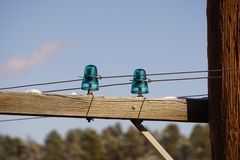 Insulators. Royalty Free Stock Images