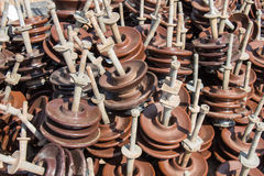 Insulators use for high voltage 22 kV Stock Image