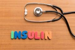 Insulin Stock Photo