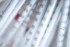 Insulin medication U-40 syringe Royalty Free Stock Photo