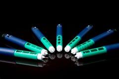 Insulin pen for diabetics Royalty Free Stock Photos