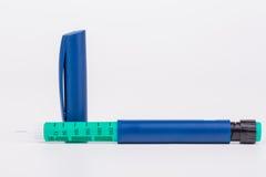 Insulin pen Stock Image