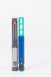 Insulin pen stock photos