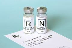 Insulin Prescription Stock Photos