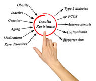 Insulin Resistance Royalty Free Stock Photos