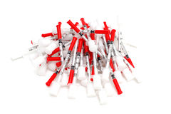 Insulin Syringe Stock Images