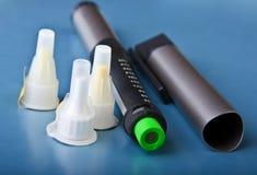 Insulin syringe Royalty Free Stock Image