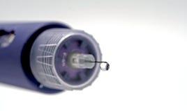 insulinpenna Royaltyfri Foto