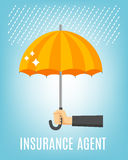 Insurance Agent Background Royalty Free Stock Image