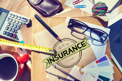 Insurance Benefits Protection Risk Security Service Concept Royalty Free Stock Photography