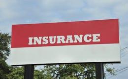 Insurance Billboard Sign Stock Photo