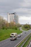 The Insurance building near the Ohra Nijmeegseweg in Arnhem, Netherlands Stock Photo
