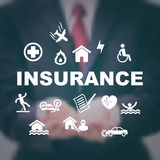 Insurance business concept Royalty Free Stock Image