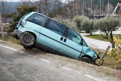 Insurance, car accident Stock Image