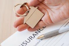 Insurance claim form Stock Photos