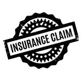 Insurance Claim rubber stamp Stock Photos