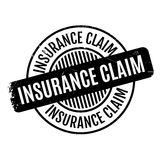 Insurance Claim rubber stamp Stock Images