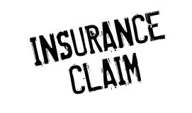 Insurance Claim rubber stamp Royalty Free Stock Photos