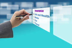 Insurance Concept Stock Image