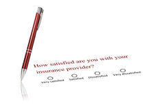 Insurance concept. Royalty Free Stock Photos