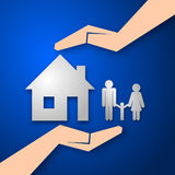 Insurance concept Stock Photos