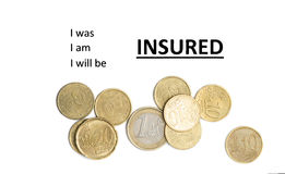 Insurance concept Royalty Free Stock Photography